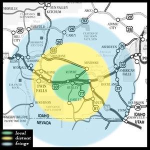 KBAR map